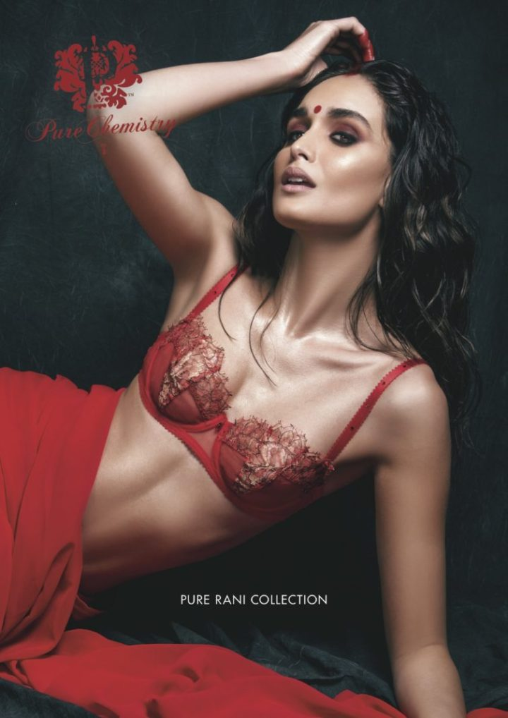Indian Bridal Lingerie and Saris, part of the new Pure Rani bridal lingerie collection from PureChemistry Lingerie