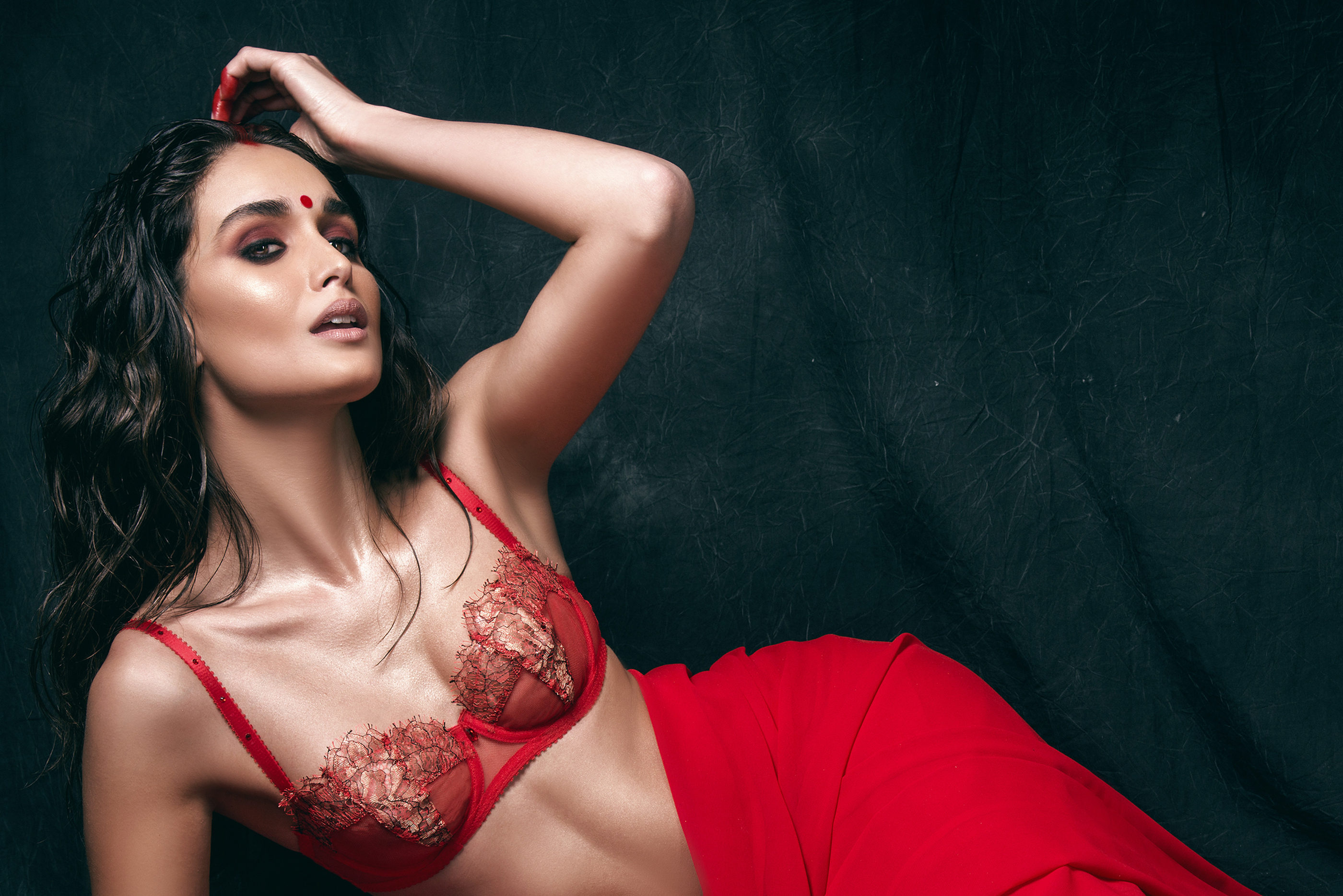 Beautiful Indian bridal lingerie from Pure Chemisty